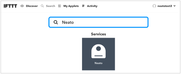 Using Your Neato Connected Series Robot With IFTTT – Neato
